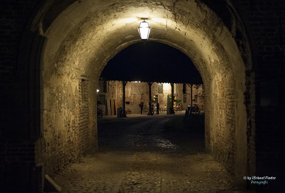 Kloster Graefenthal bei Nacht 2