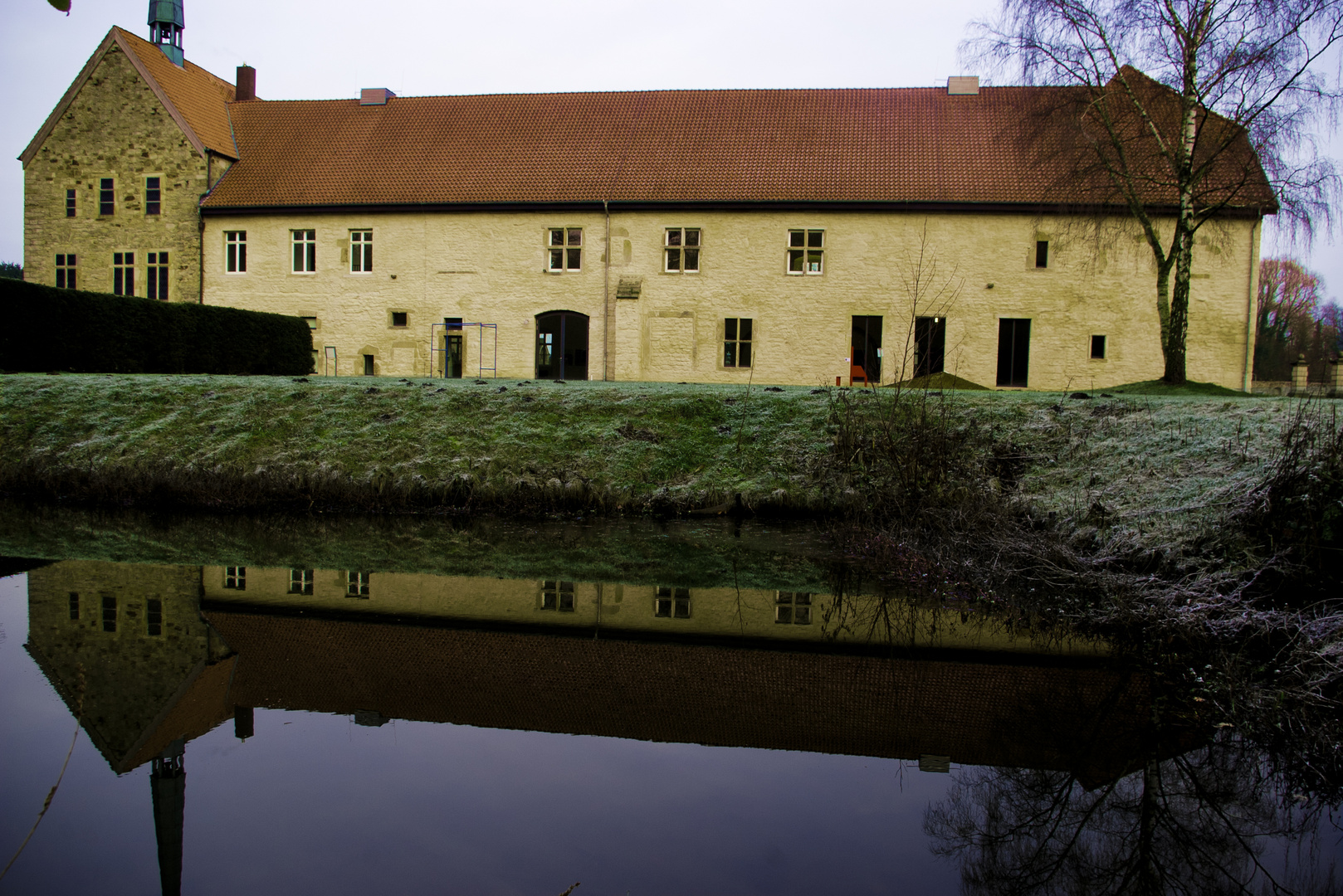 Kloster Gravenhorst von der Seite