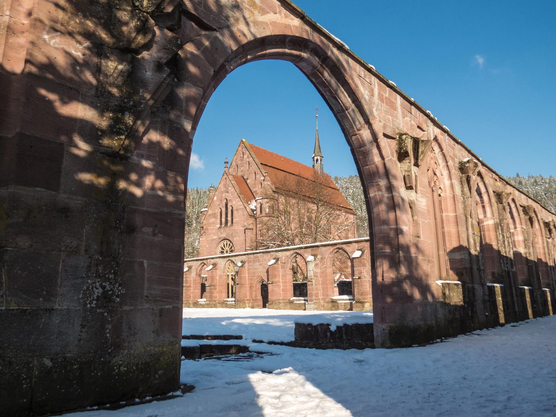 Kloster Hirsau im Winter