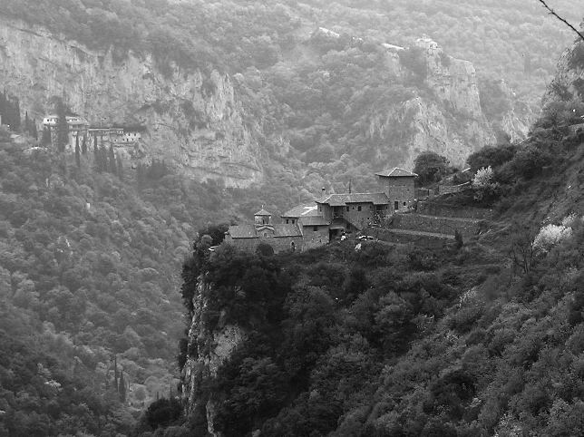 Kloster im Zentralpeloponnes
