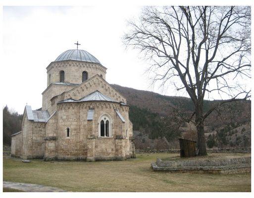 Kloster in Süden Serbiens
