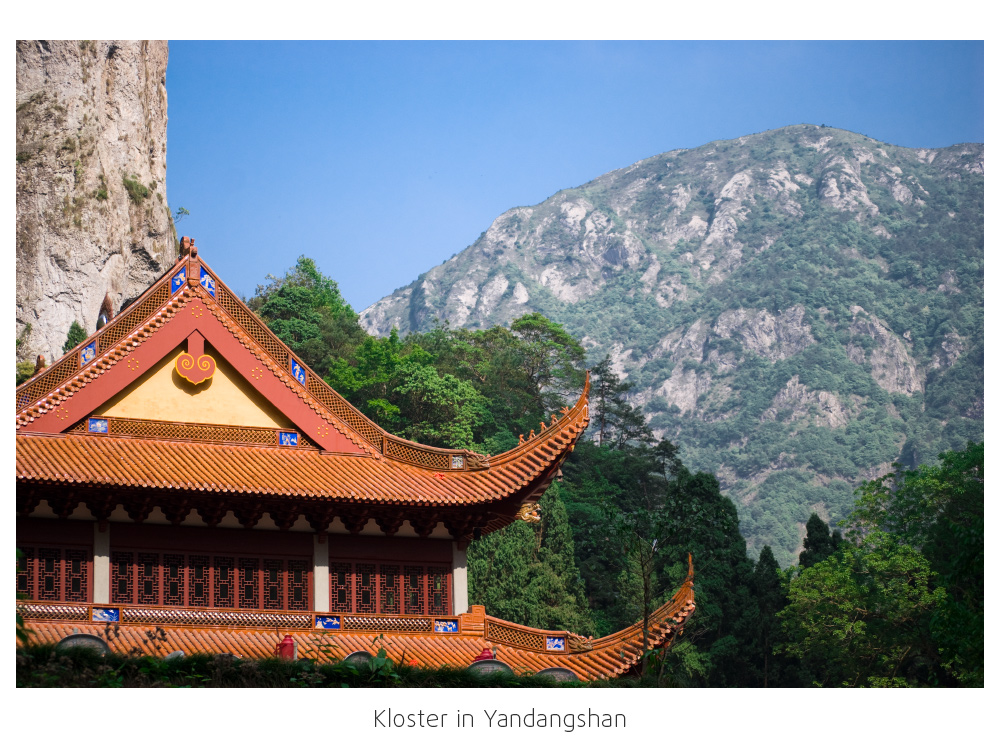 Kloster in Yandangshan