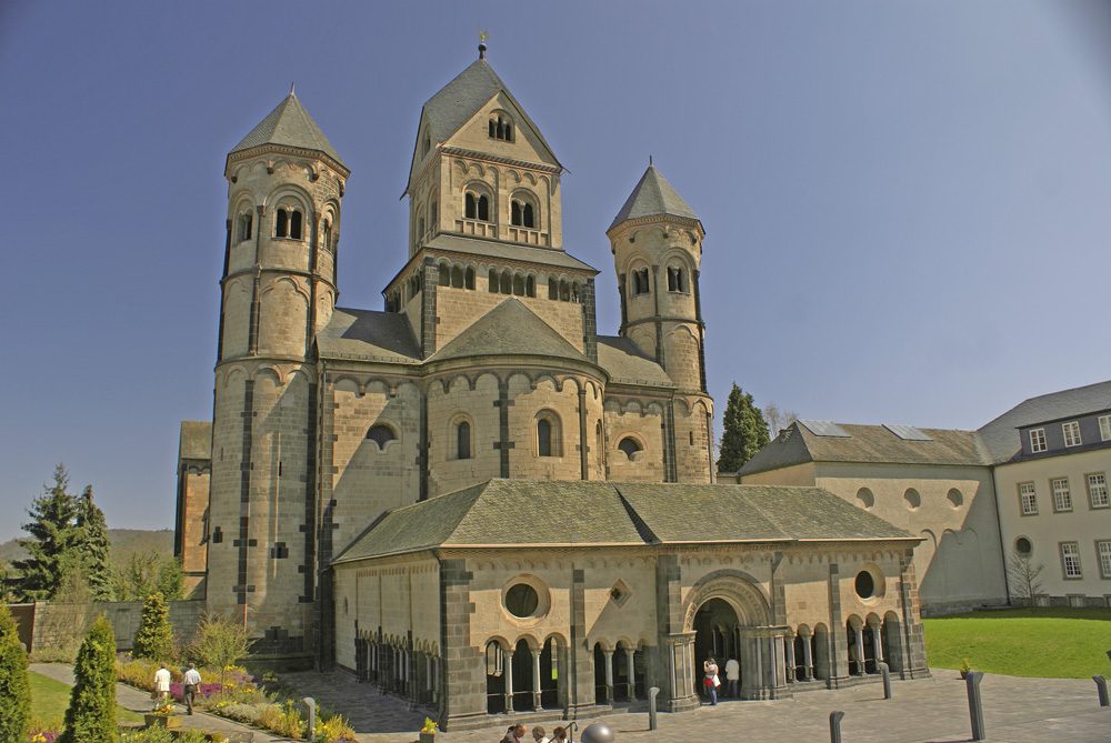 Kloster Maria Laach - April 2010