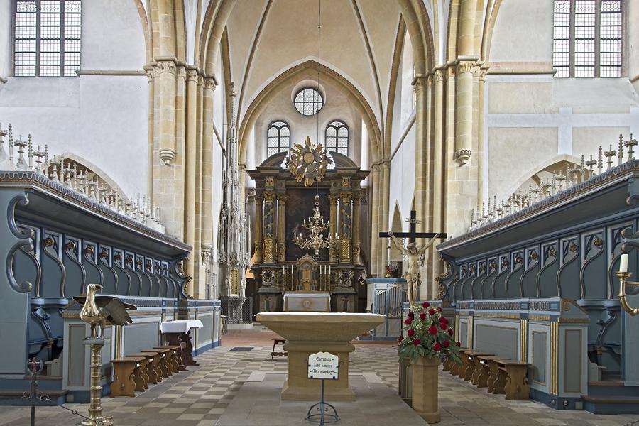 Kloster Marienfeld - Chorraum