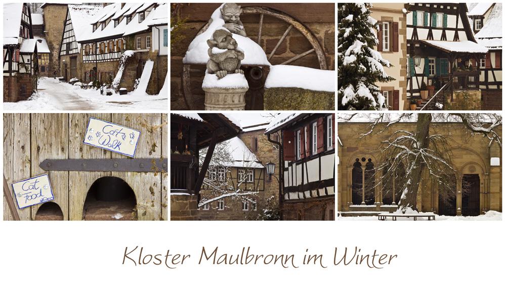 Kloster Maulbronn im Winter