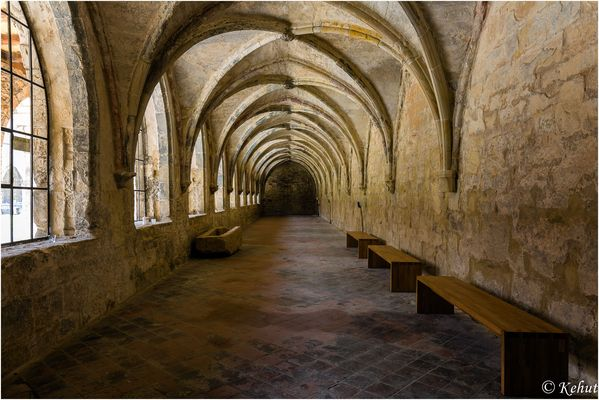 Kloster Michaelstein (1) Im Kreuzgang