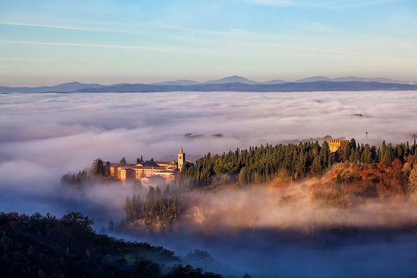 Kloster Monte Oliveto Maggiore