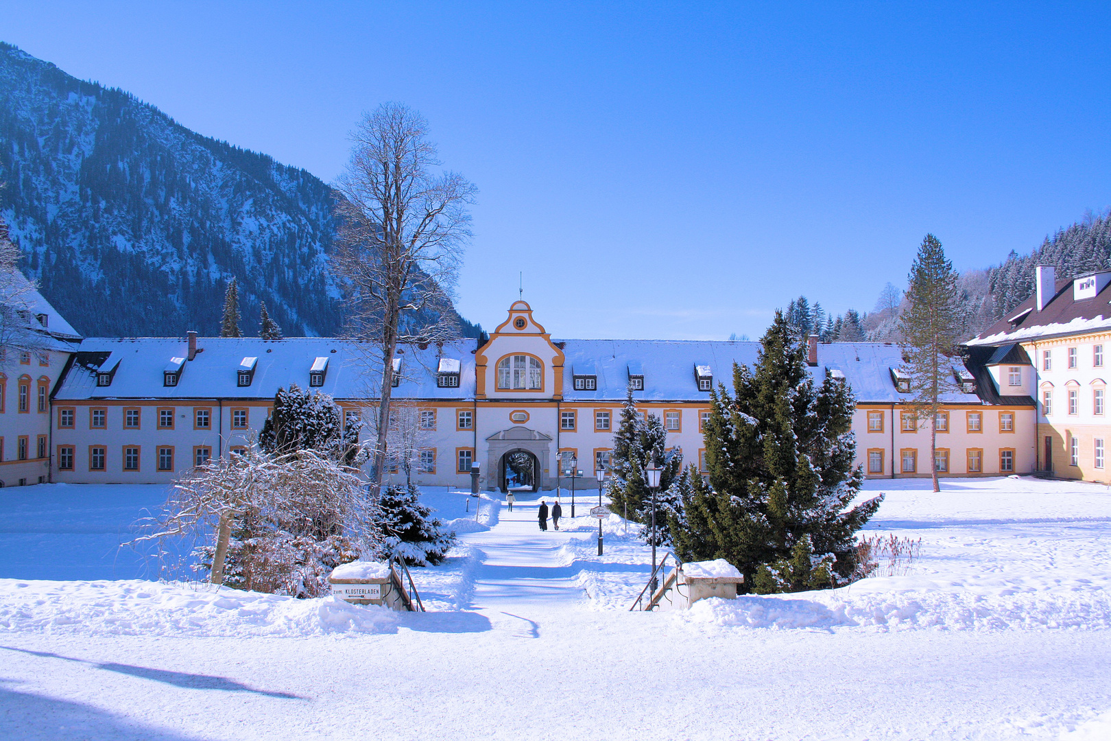 Kloster Oberammergu