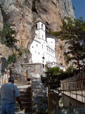 Kloster Ostrog in Montenegro
