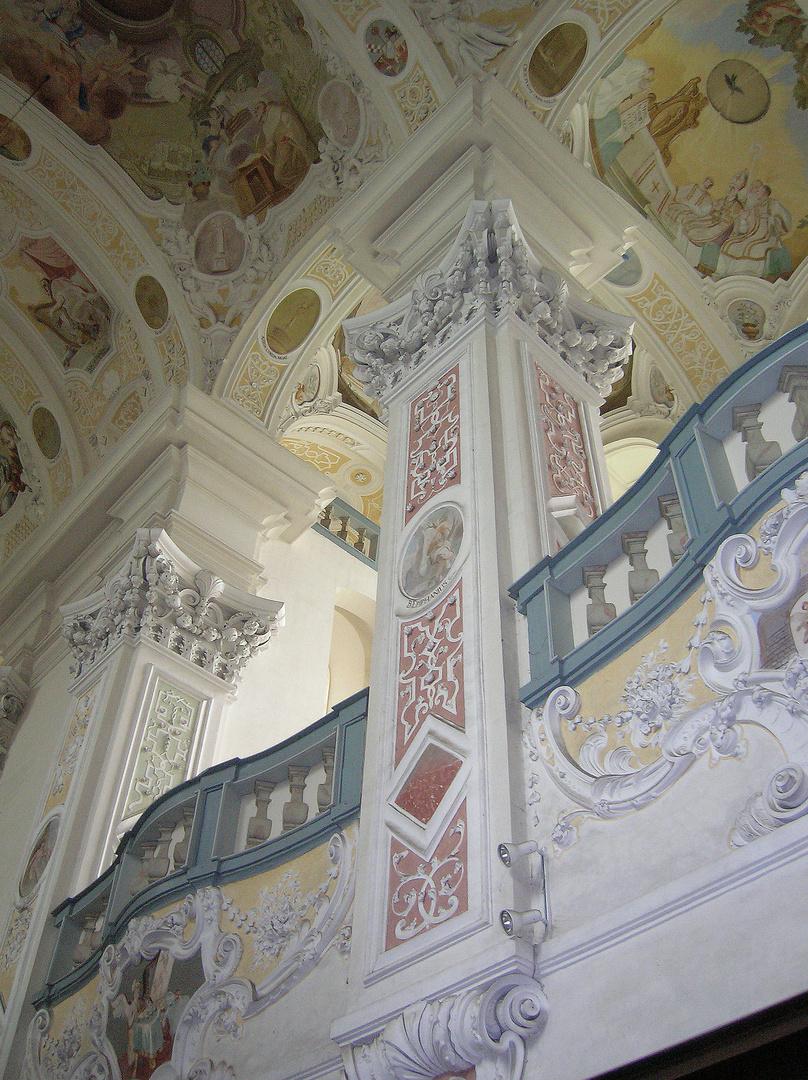 Kloster Schöntal - Innenansicht der Klosterkirche