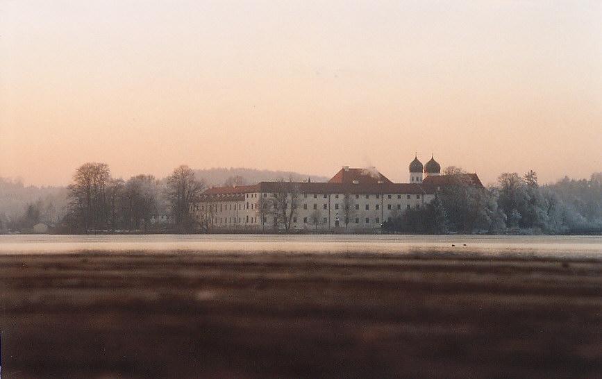 Kloster Seeon Dämmerung