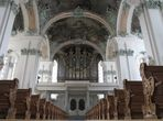 Kloster St. Gallen, die Orgel
