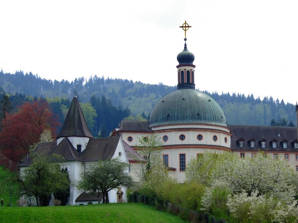 Kloster St. Trudpert im Münstertal Schwarzwald Südbaden