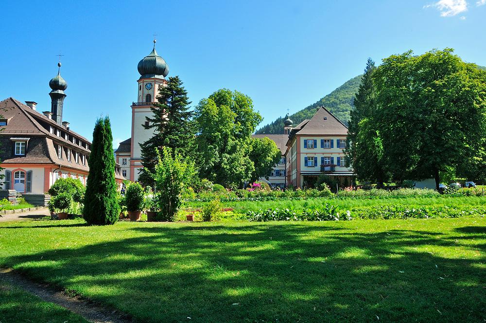 Kloster und Kirche von St. Trudpert im Münstertal Serie: Nr.8