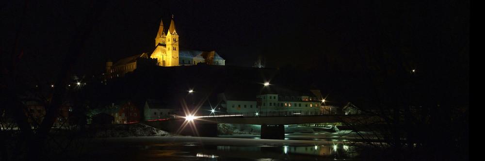 Kloster und Regenbrücke Reichenbach (bei Nittenau) 2009