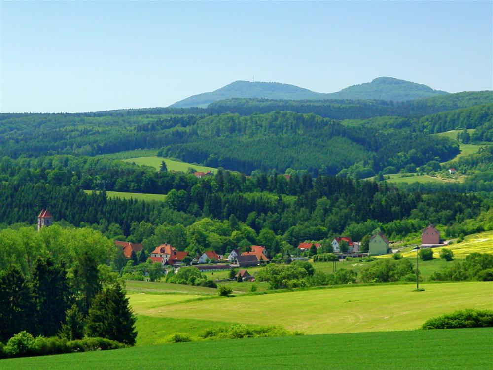 Kloster Veßra, Gleichberge