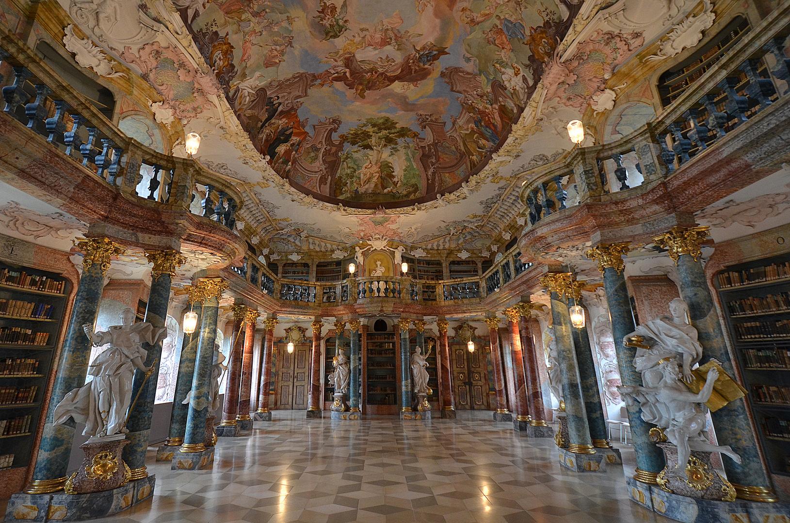 Kloster Wiblingen - Bibliotheksaal