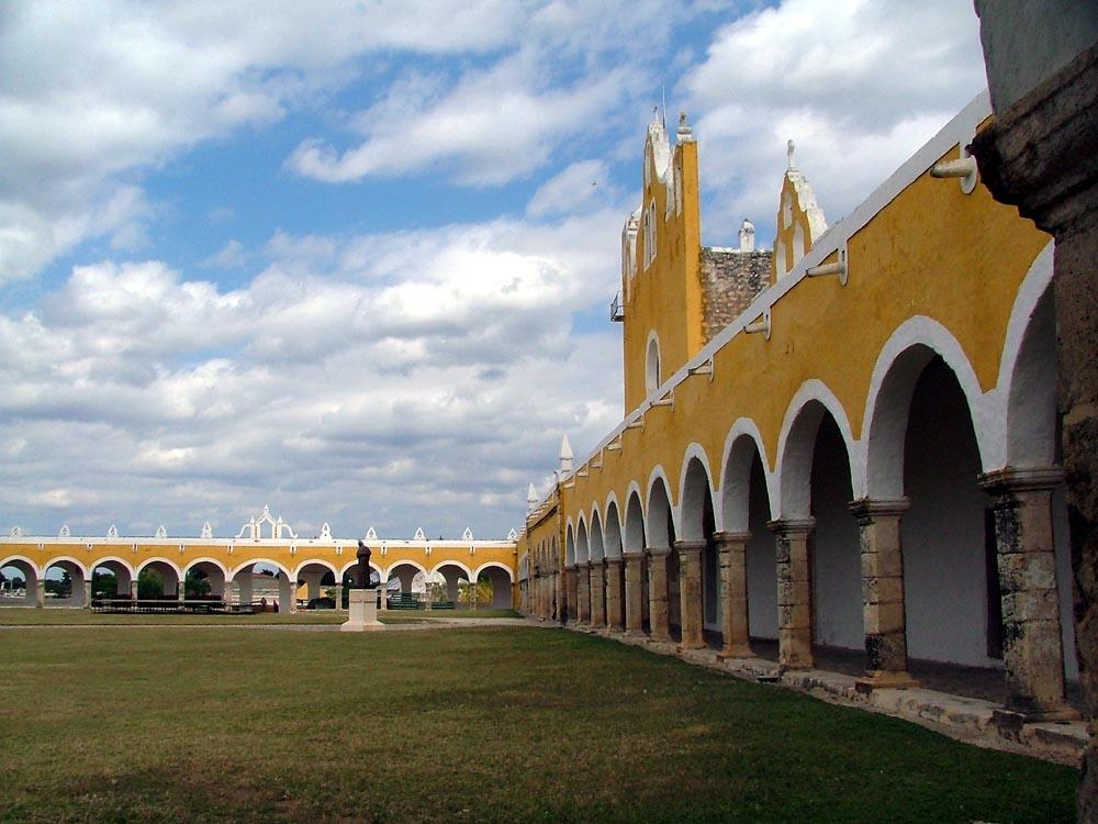 Klosteranlage in Izamal
