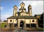 Klosterbasilika im Weitwinkel