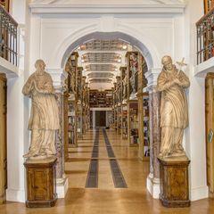 Klosterbibliothek der Abtei Marienstatt
