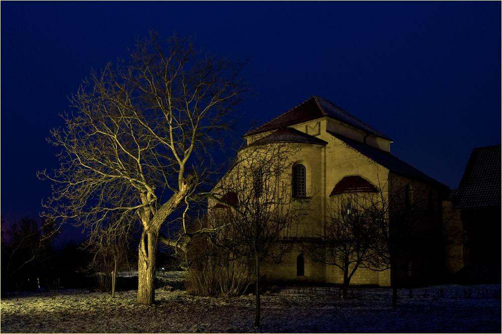 Klostergarten der Konradsburg in Ermsleben
