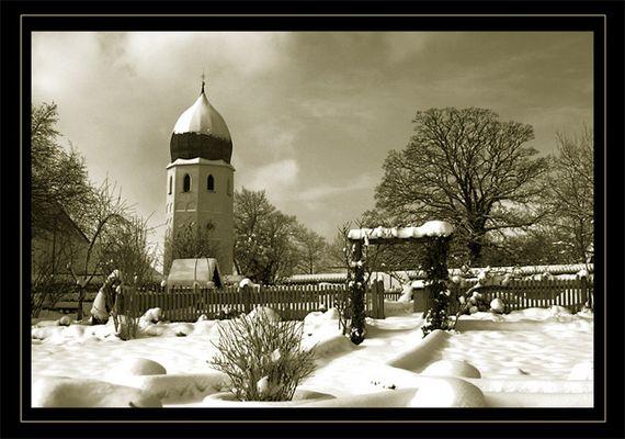 Klostergarten im Winter