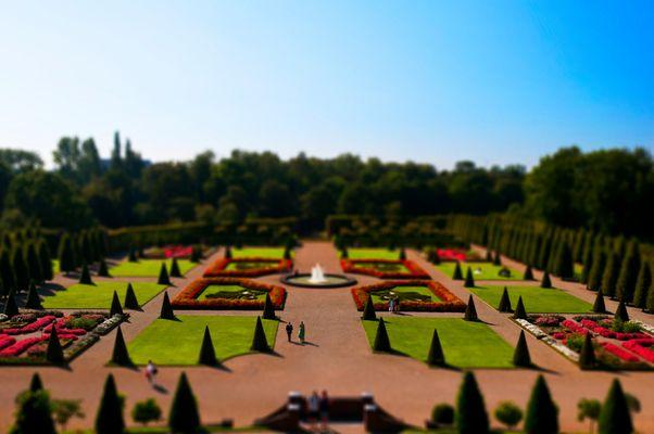Klostergarten Modell