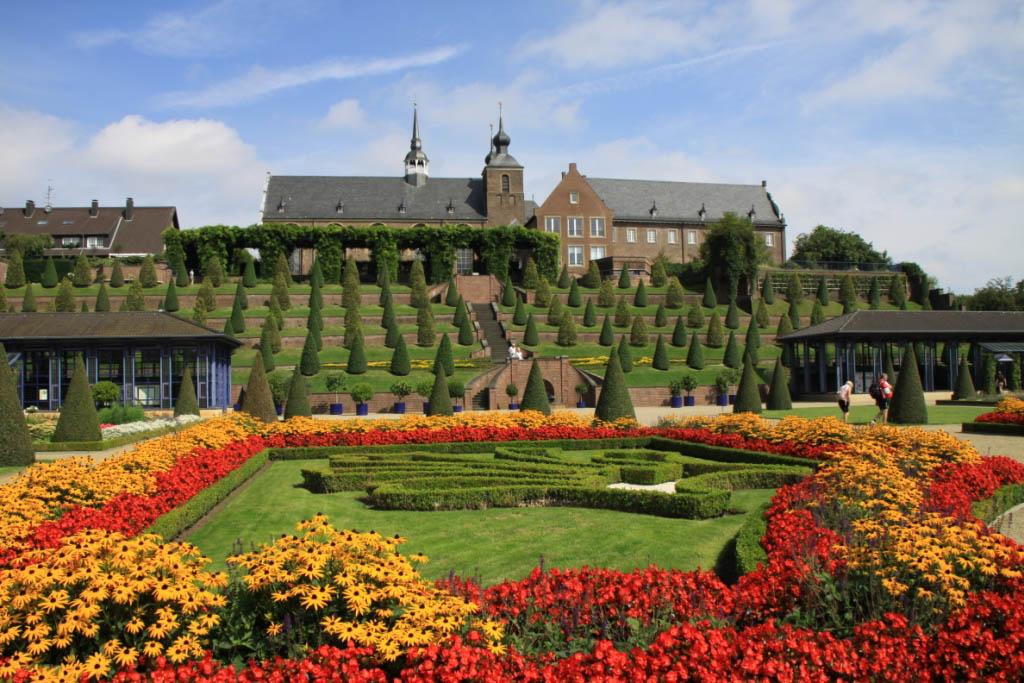 Klostergarten vom Kloster Kamp in Kamp-Lintfort