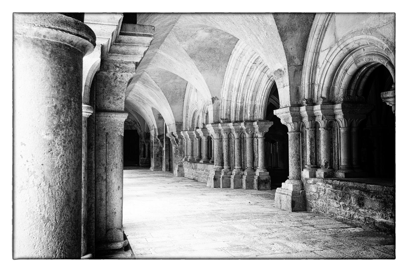 Klostergewölbe Fontenay