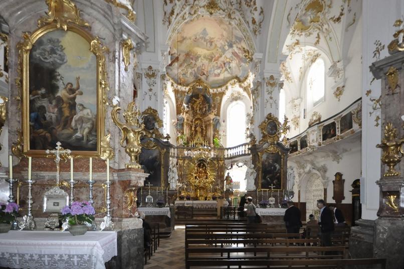 Klosterkirche Andechs Altarraum