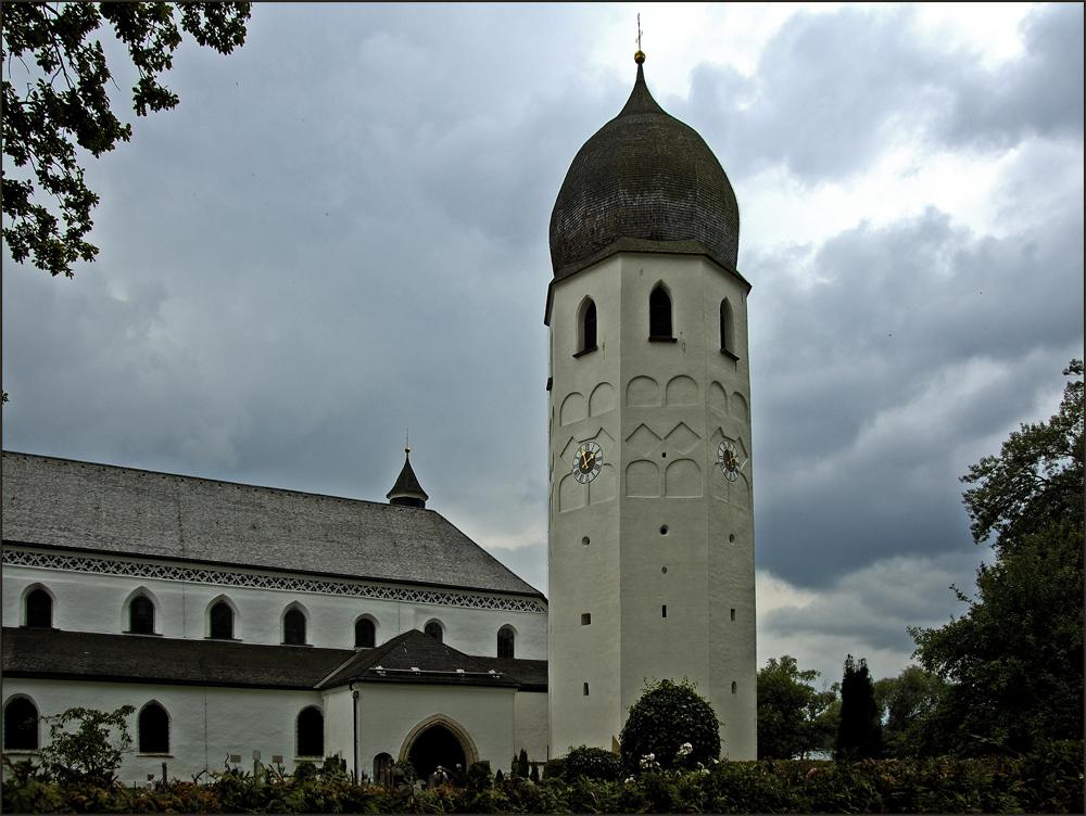 Klosterkirche auf der Fraueninsel/Chiemsee