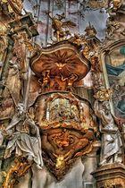 Klosterkirche Ettal, Kanzel