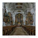 """Klosterkirche Mariä Himmelfahrt (Irsee) """" Gott zu Gefallen..."""""""
