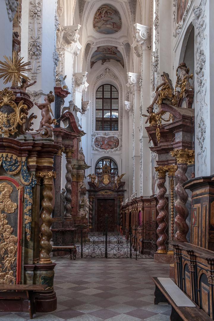 Klosterkirche Neuzelle Seitengang