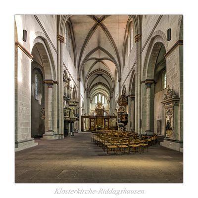 """Klosterkirche-Riddagshausen """" Gott zu Gefallen..."""""""