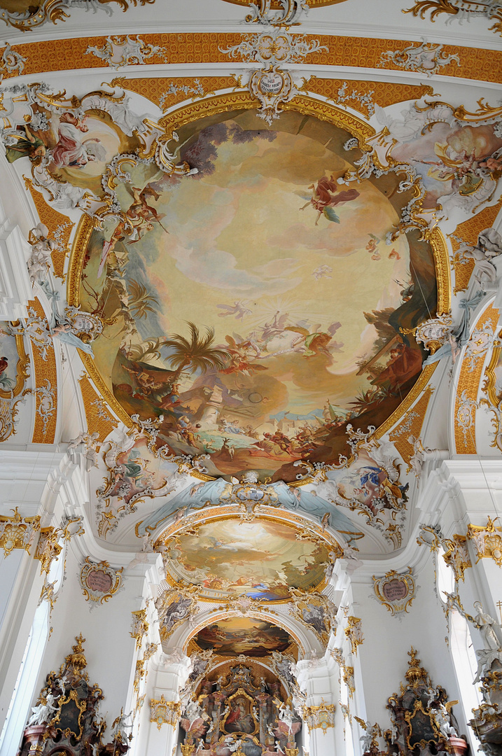 Klosterkirche Roggenburg Deckenmalerei