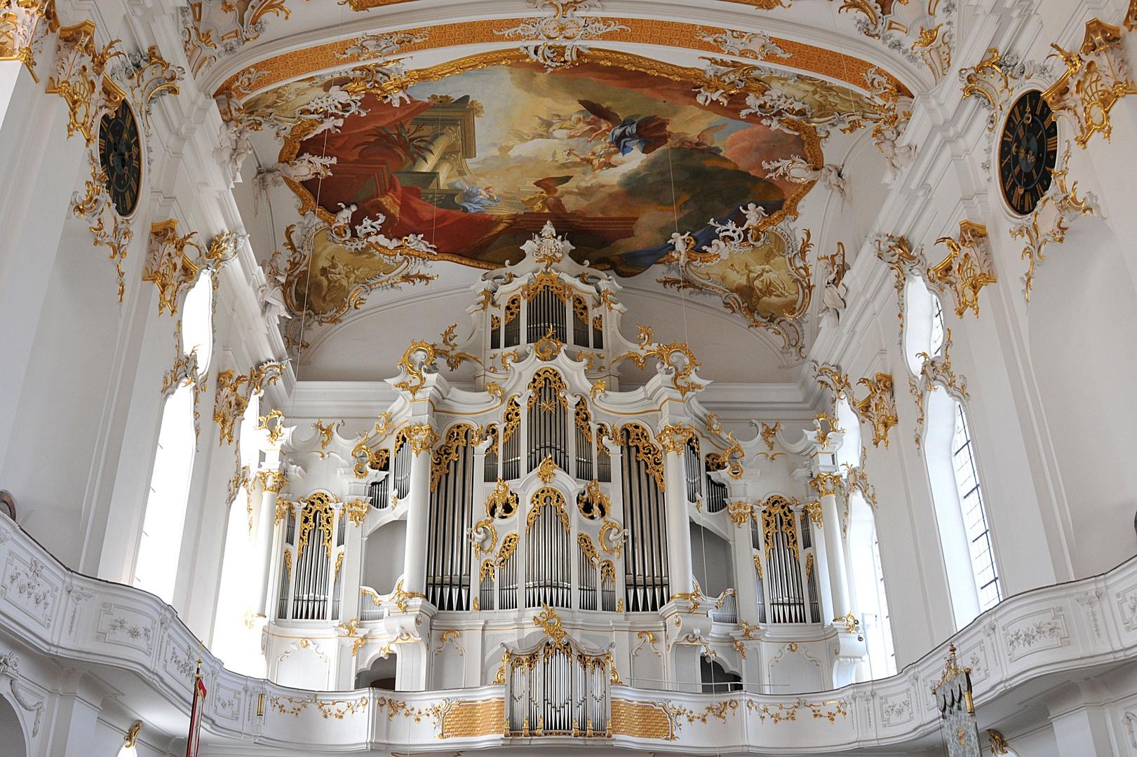 Klosterkirche Roggenburg Orgel