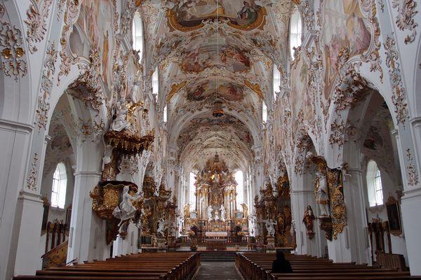 Klosterkirche Rottenbuch IV