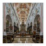 "Klosterkirche St. Georg ( Ochsenhausen ) "" Gott zu Gefallen..."""