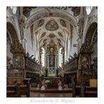 """Klosterkirche St. Magnus ( Schussenried ) """" Gott zu Gefallen..."""""""