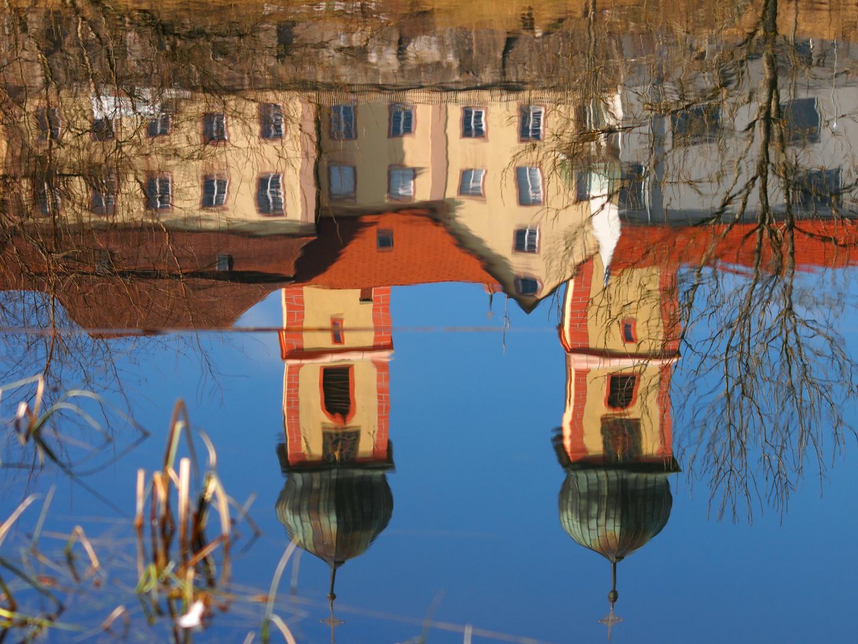 Klosterkirche unter Wasser