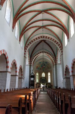 Klosterkirche Zinna Innenraum