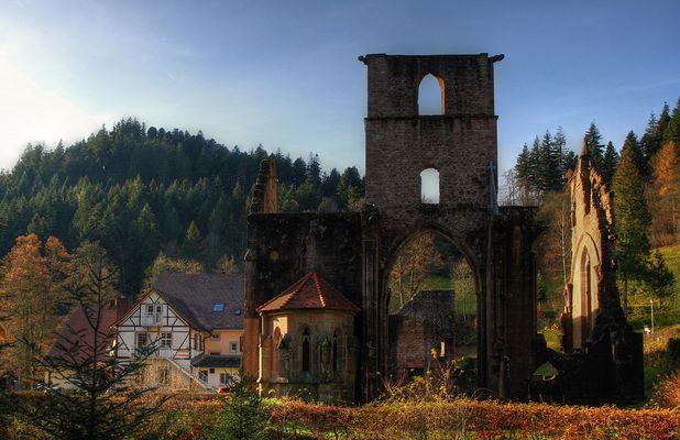 Klosterruine in Allerheiligen