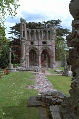 Klosterruine in Schottland
