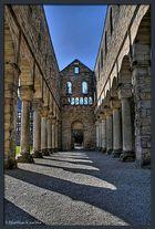 Klosterruine Paulinzella - Blick durch das Schiff