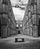 Klosterruine San Galgano, Toskana