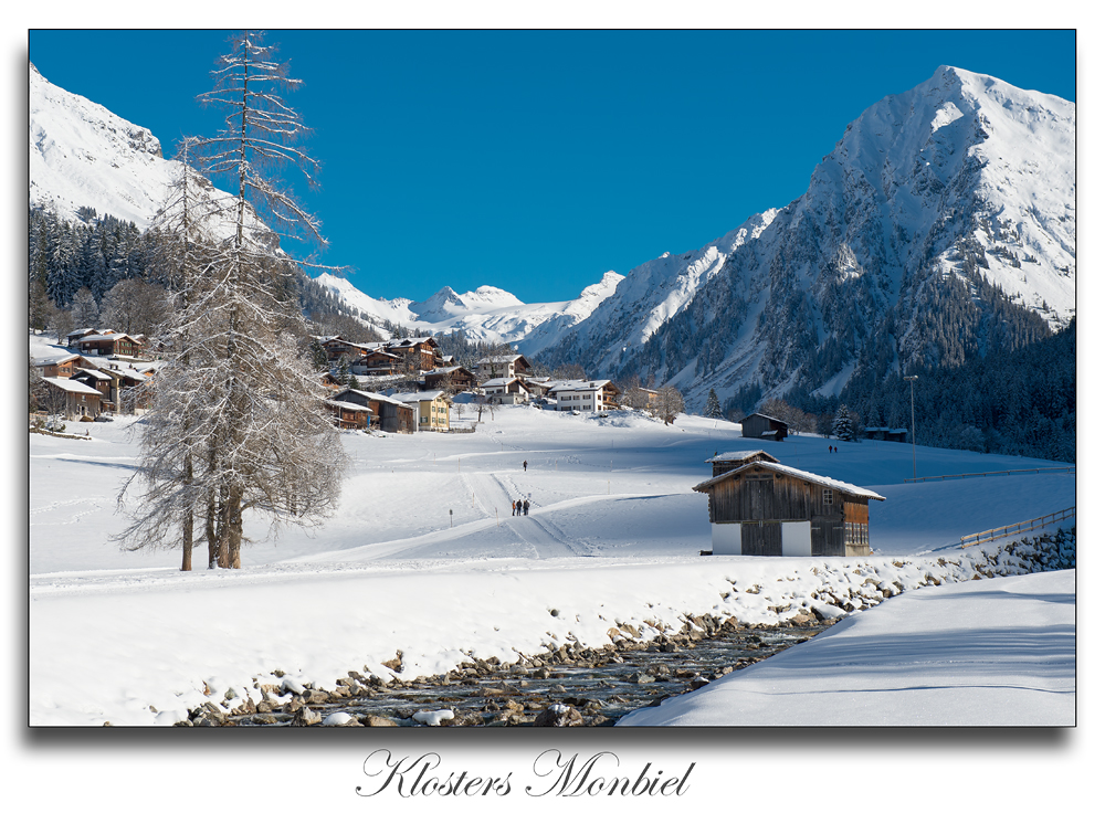 Klosters Monbiel
