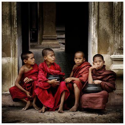 Klosterschüler in Burma