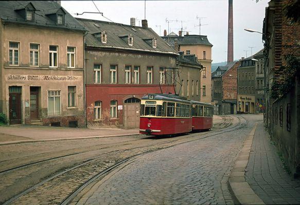 Klosterstrasse, Plauen i/V, 1974