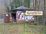 """Klusenstein  """"Haltestelle  im schönen Hönnetal """" !"""